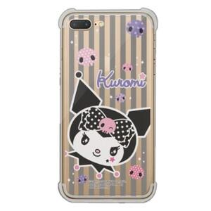 Kuromi iPhone 7 Plus Transparent Bumper Case