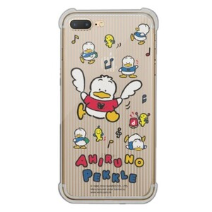 Ahiruno Pekkle iPhone 7 Plus Transparent Bumper Case