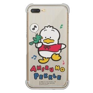 Ahiruno Pekkle iPhone 7 Plus Transparent Bumper Case