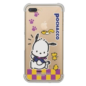 Pochacco iPhone 7 Plus Transparent Bumper Case