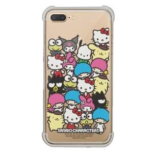 Sanrio Characters iPhone 7 Plus Transparent Bumper Case