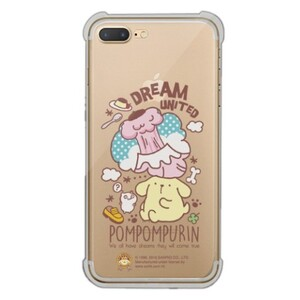 Pompompurin iPhone 7 Plus Transparent Bumper Case