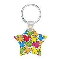 Star Shaped Keychain