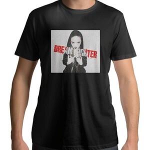 Dream Fighter Evelyn On - Men 's Cotton Round Neck T - shirt (Black)
