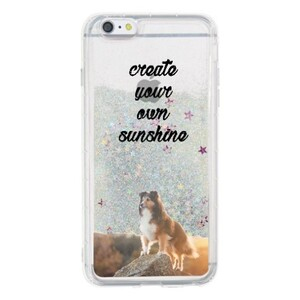 iPhone 6/6s Plus Liquid Glitter Case