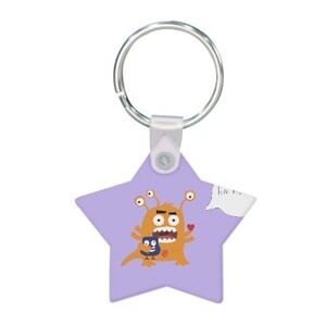 Star Shaped Keychain