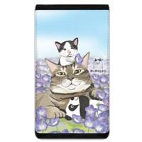 貓奶爸興孩子手機袋錢包 (Lanyard Phone Case Wallet)