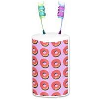 Donut Toothbrush Holder
