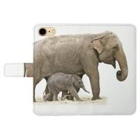 Elephant iPhone 7 Leather Case