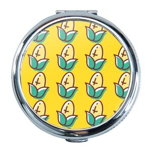 Corn Round Compact Mirror (Small)