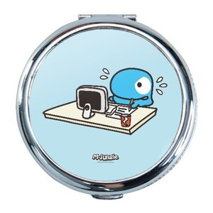 M-JUNGLE - Whole Day Working Round Compact Mirror (Small)