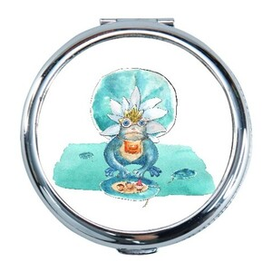 frog Round Compact Mirror (Small)