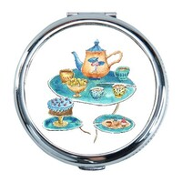 Snack Round Compact Mirror (Small)