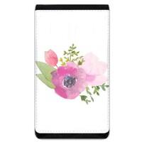 Flower Lanyard Phone Case Wallet