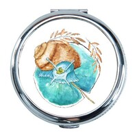 Snail Round Compact Mirror (Small)