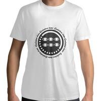六眼DADAQ Men 's Cotton Round Neck T - shirt
