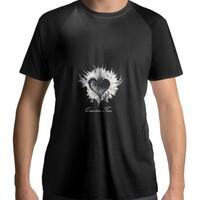 QUINTON TSAO LOVE 愛 Men's Raglan T-Shirt