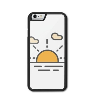 sun raise iPhone 6/6s Bumper Case