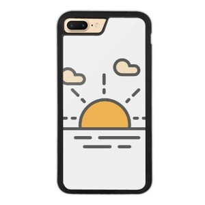 sun raise iPhone 7 Plus Bumper Case