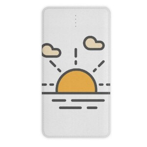 sun raise 10000mah Imitation Leather Power Bank