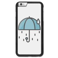 rainning umbrella iPhone 6/6s Plus Bumper Case