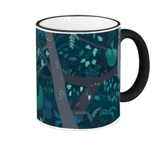Fringe & Handle Color Mug