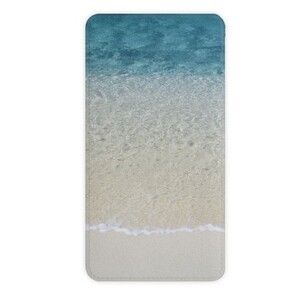 beach 10000mah Imitation Leather Power Bank
