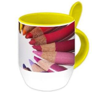 pencil Mug with Spoon