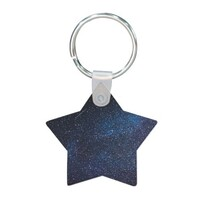 sky Star Shaped Keychain