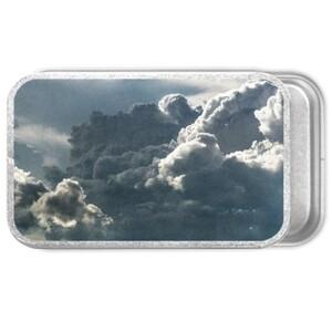 sky Metal Slide Top Tin