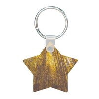 maple Star Shaped Keychain
