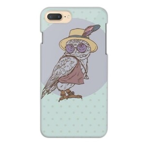 Owl iPhone 7 Plus Glossy Case