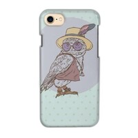 Owl iPhone 7 Glossy Case