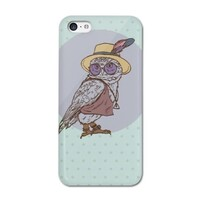 Owl iPhone 5C Glossy Case