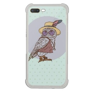 Owl iPhone 7 Plus Transparent Bumper Case