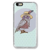 Owl iPhone 6/6s Plus Transparent Bumper Case