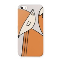 Fox iPhone 5/5s Matte Case