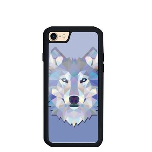 Wolf iPhone 7 TPU Dual Layer  Bumper Case