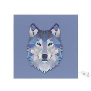 Wolf Square Light Box