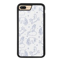 Unicorn iPhone 7 Plus Bumper Case