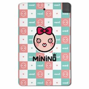 MiNiNO Girl's style 2500mah 行動電源