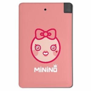 MiNiNO Girl's style 2500mah Mobile power.