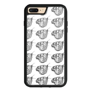 butterfly iPhone 7 Plus TPU Dual Layer  Bumper Case
