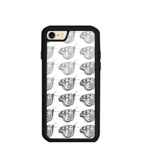 butterfly iPhone 7 TPU Dual Layer  Bumper Case