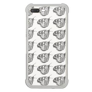butterfly iPhone 7 Plus Transparent Bumper Case