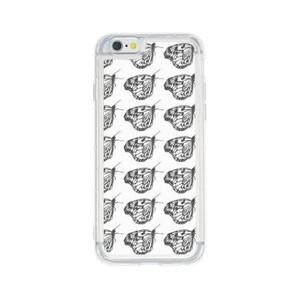 butterfly iPhone 6/6s Liquid Glitter Case