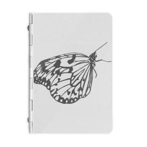 butterfly Metal Notebook