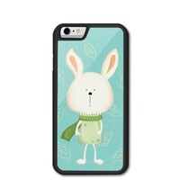 iPhone 6/6s Bumper Case - Scarf Bonny 圍巾小兔 (Green 湖水綠)