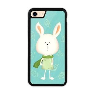 iPhone 7 Bumper Case - Scarf Bonny 圍巾小兔 (Green 湖水綠)
