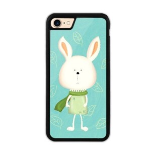 iPhone 7 Bumper Case - Scarf Bonny 圍巾小兔 (Green 湖水綠)